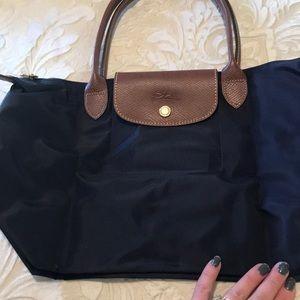 Longchamp purple purse